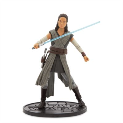 Figura a escala Rey serie Élite, Star Wars: Los últimos Jedi