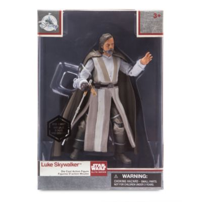 Luke Skywalker Elite Series Die-Cast Action Figure, Star Wars: The Last Jedi