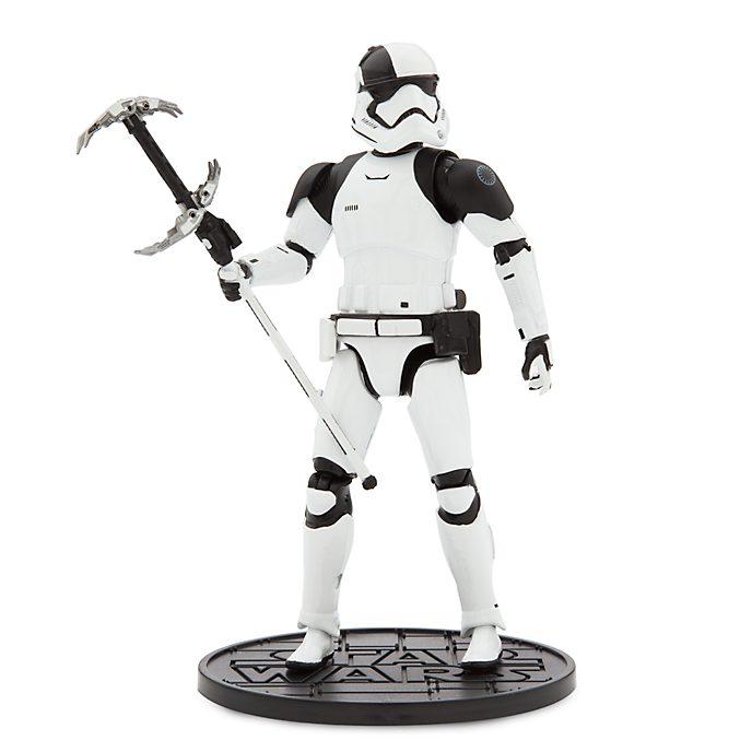 First Order Judicial Stormtrooper Elite Series Die-Cast Action Figure, Star Wars: The Last Jedi