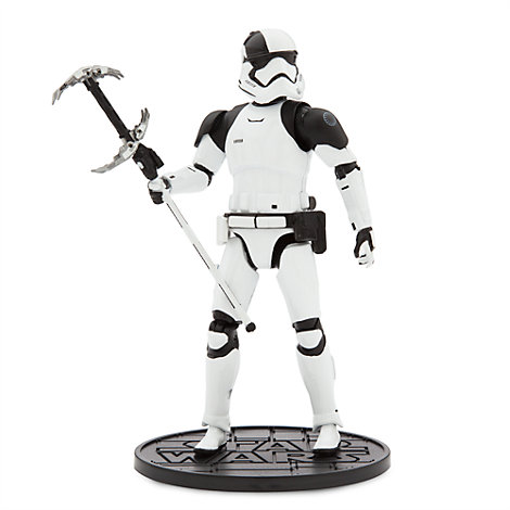 First Order Judicial Stormtrooper Elite Series Die-Cast Action Figure, Star Wars: The Last Jedi