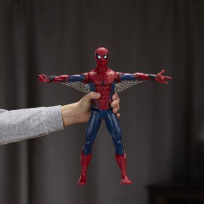 Muñeco de acción con voz de Spider-Man Homecoming con tecnología Eye FX
