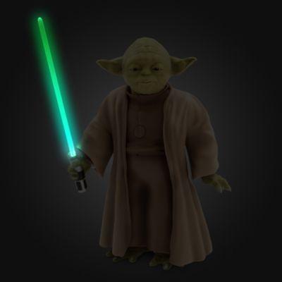 Figurine articulée interactive de Yoda, Star Wars