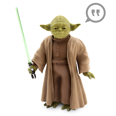 Talende og bevægelig Yoda actionfigur, Star Wars