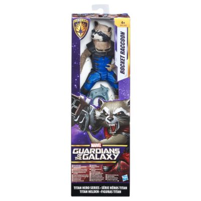 figurine rocket raccoon 30 cm s rie titan hero gardiens de la galaxie. Black Bedroom Furniture Sets. Home Design Ideas