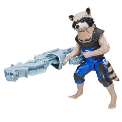 Figura de Rocket Raccoon de la serie Titan Hero de 30cm, Guardianes de la Galaxia