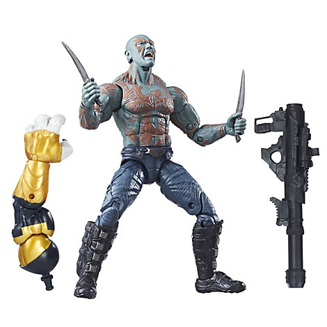 Figurine Drax 15 cm série Legends, Gardiens de la Galaxie Vol. 2