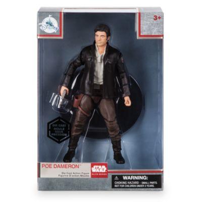 Poe Dameron, Elite-serien, diecast-actionfigur, Star Wars: The Last Jedi