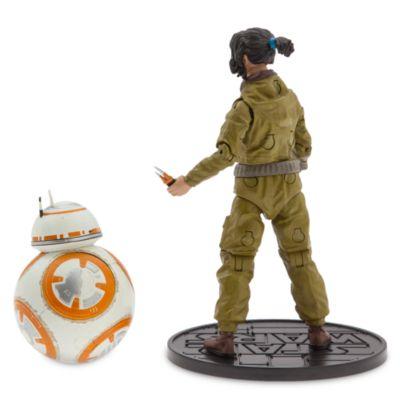 Figurines articulées miniatures Rose et BB-8, série Elite, Star Wars: Les Derniers Jedi