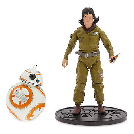 Muñecos de acción a escala de la serie Élite Rose y BB-8, Star Wars: Los últimos Jedi