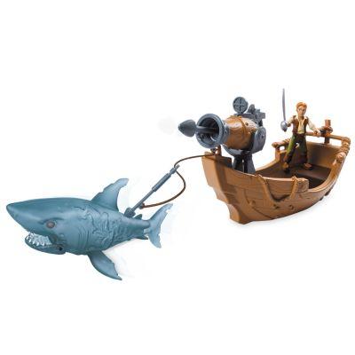 Set de juego del ataque del tiburón fantasma, Piratas del Caribe: La Venganza de Salazar