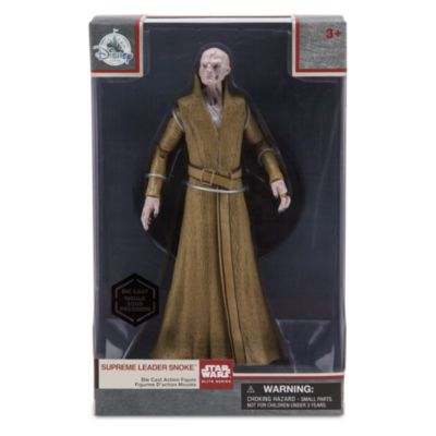 Muñeco de acción a escala de la serie Élite Líder Supremo Snoke, Star Wars: Los últimos Jedi