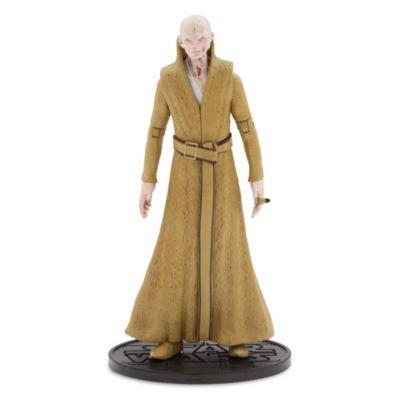 Figurine articulée miniature Suprême Leader Snoke, série Elite, Star Wars: Les Derniers Jedi
