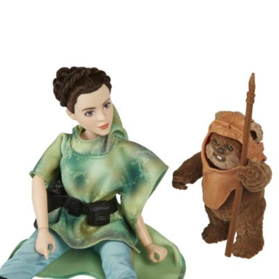 Set de aventuras Princesa Leia y Wicket, Star Wars Forces of Destiny