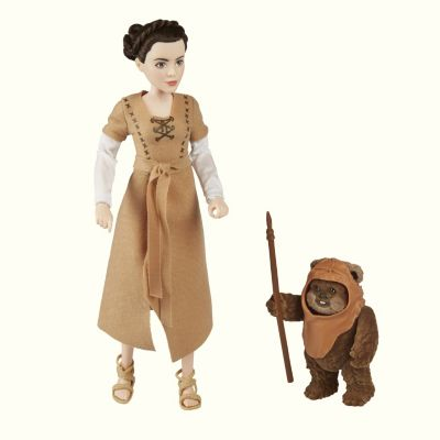 Princess Leia and Wicket Adventure Figure Set, Star Wars: Forces of Destiny