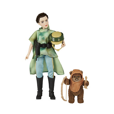 Coffret Princesse Leia et Wicket, Star Wars : Forces du destin