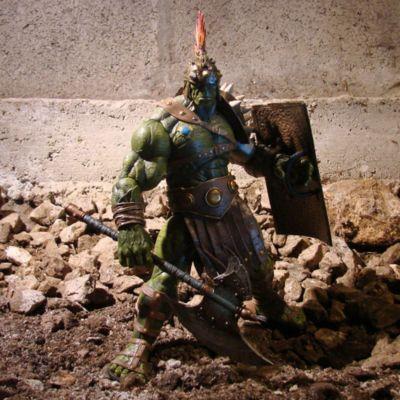 Gladiator Hulk samlaractionfigur