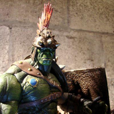 Gladiator Hulk - Actionfigur zum Sammeln