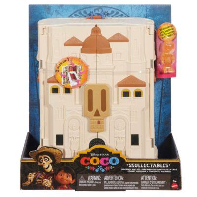 Set de juego figura en miniatura maletín de coleccionista, Disney Pixar Coco