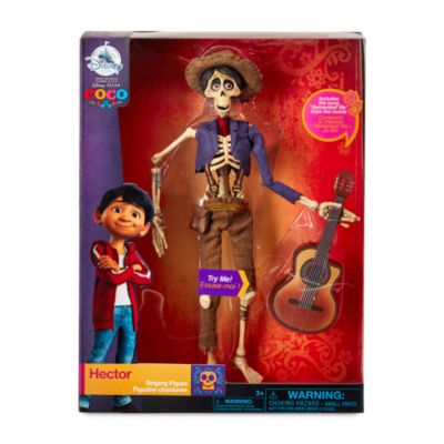 Disney Pixar Coco Hector Singing Figure