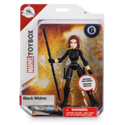 Action Figure Vedova nera, Marvel Toybox