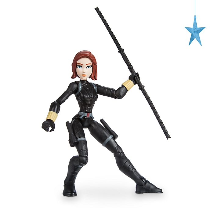 Figurine articulée Black Widow, série Marvel Toybox