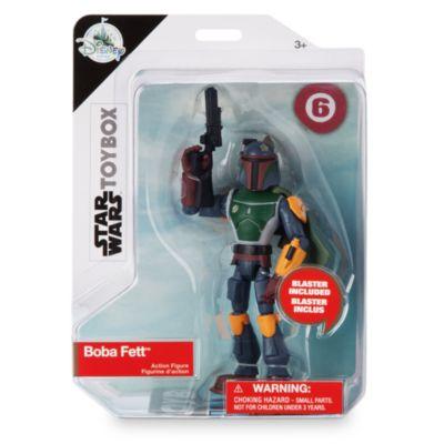 Figurine Boba Fett articulée, collection Star Wars Toybox