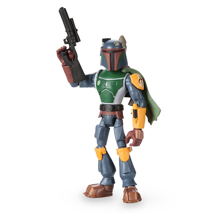 Figurine Boba Fett articulée, collection Star Wars Toybox