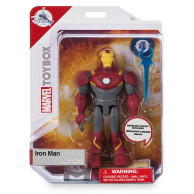 Action figure Iron Man, Marvel Toybox