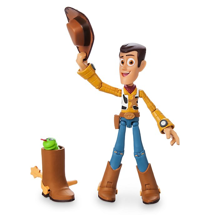 Action Figure Woody, Pixar Toolbox