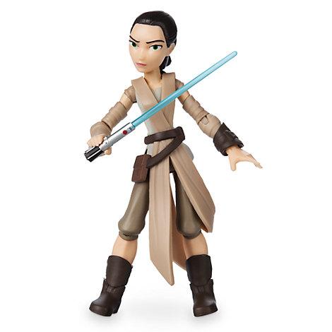 Action figure Rey, Star Wars Toybox