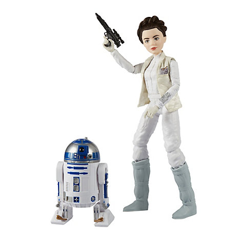 Set de aventuras Princesa Leia Organa y R2-D2, Star Wars Forces of Destiny