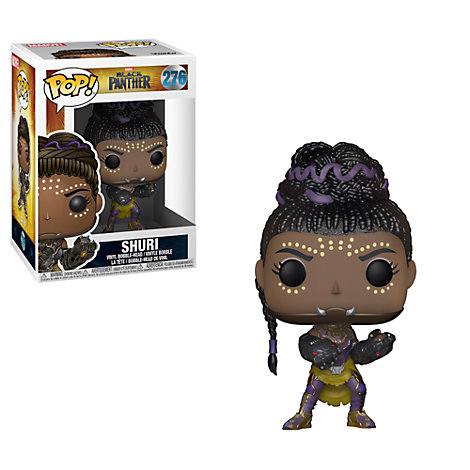 Personaggio in vinile Shuri serie Pop! di Funko, Black Panther
