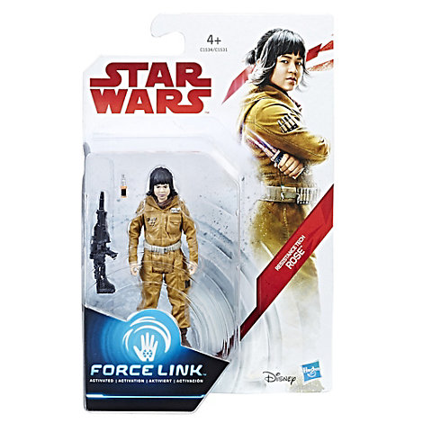Star Wars Resistance Tech Rose Force Link Figure