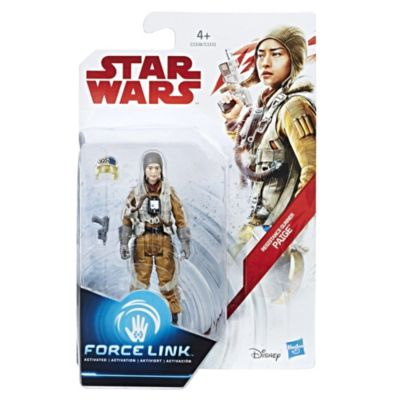Star Wars motståndsskytt Paiges Force Link-figur