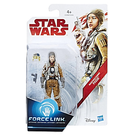 Figurine Force Link de Paige, canonnière de la Résistance, Star Wars