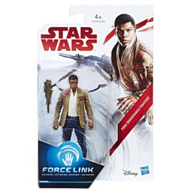 Star Wars Finn (modstandskæmper) Force Link figur
