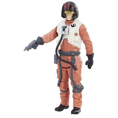 Figura Vínculo de Fuerza de Poe Dameron, piloto de la resistencia, Star Wars