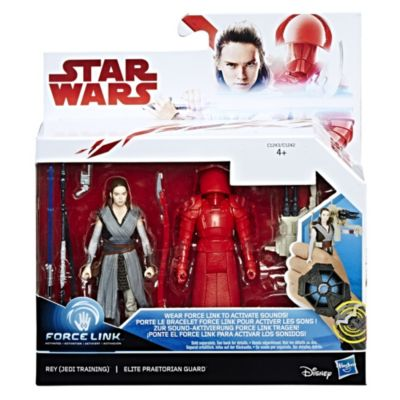 Rey, entrenamiento Jedi, y guardia de la Élite Pretoriana, pack de 2, Star Wars