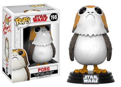 Personaggio in vinile Porg serie Pop! di Funko, Star Wars: Gli Ultimi Jedi