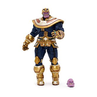 Figurine articulée collector Thanos, série Marvel Select