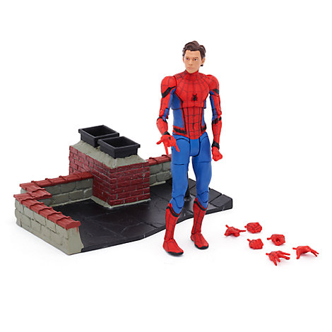 figurine articul e collector spider man s rie marvel select. Black Bedroom Furniture Sets. Home Design Ideas