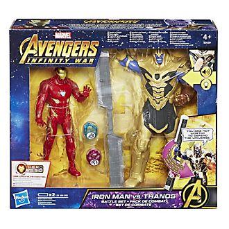 Set da gioco battaglia Iron Man contro Thanos