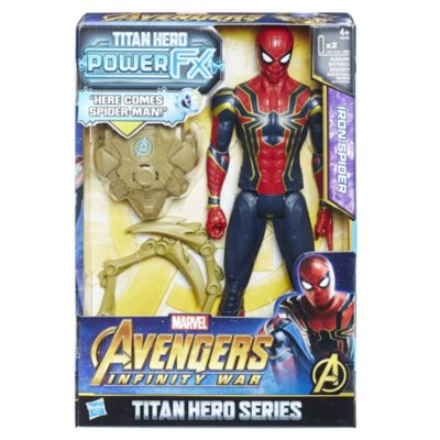 Muñeco acción Iron Spider, Titan Hero Power FX