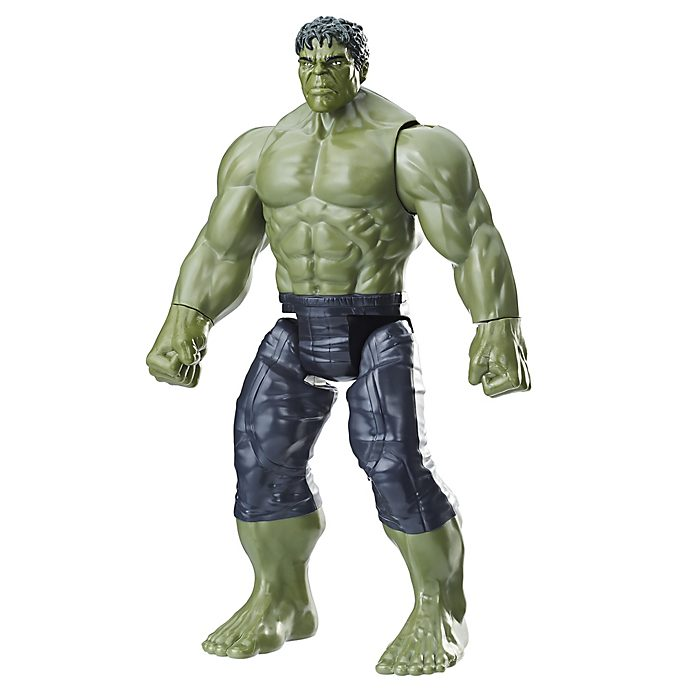 Muñeco acción Hulk, Titan Hero Power FX