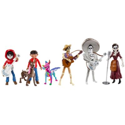 Figurines Miguel et Dante, Disney Pixar Coco
