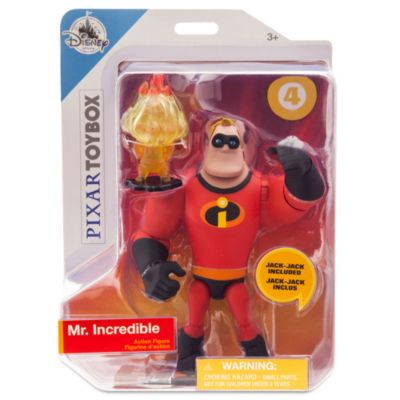 Figurine M. Indestructible articulée, collection Disney Pixar Toybox