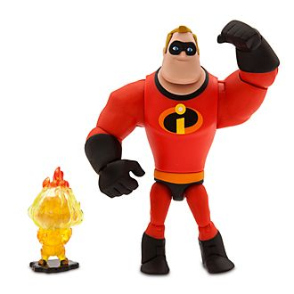 Action figure Mr. Incredibile, Disney Pixar Toybox