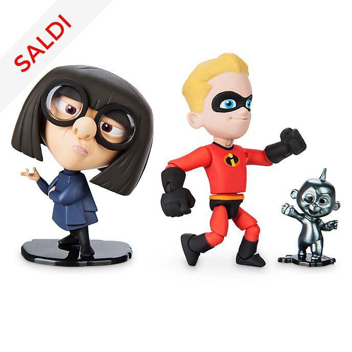 Set action figure Flash ed Edna Moda Disney Pixar Toybox