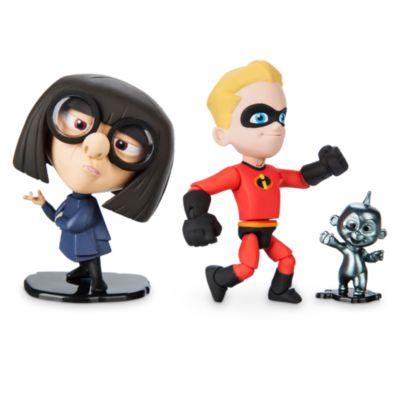 Set muñecos acción Dash y Edna Moda, Disney Pixar Toybox