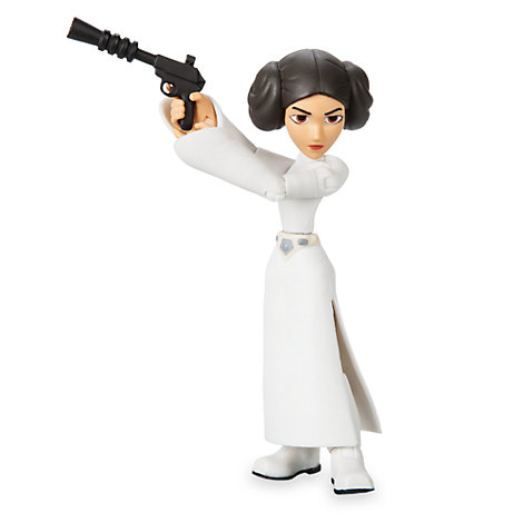 Figurine Princesse Leia articulée, collection Star Wars Toybox